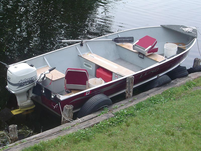 16ft Lund Fishing Boat