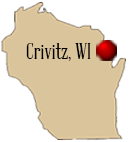 Located in Crivitz, Wisconsin